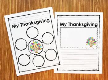 FREE Thanksgiving Writing Activity