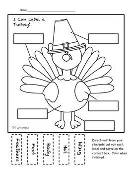 FREE Thanksgiving- Turkey Label-