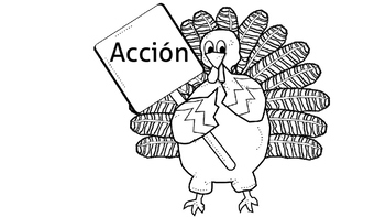 FREE Thanksgiving Worksheets in Spanish
