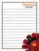 FREE Thanksgiving journal templates