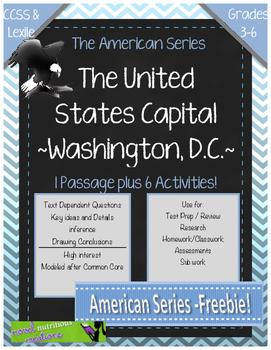 FREE~ The American Series~ Washington D.C.