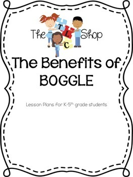 FREE! The Benefits of Boggle {Lesson Plans and Ideas}