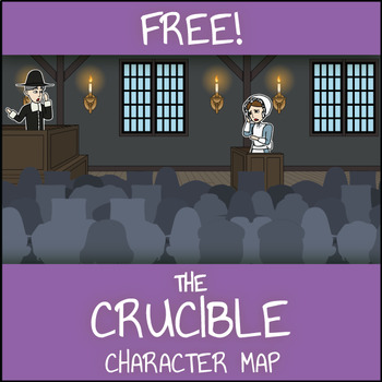 Free The Crucible Character Map Worksheet By Storyboard That Tpt
