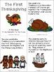 Thanksgiving Activities Free, Turkey, Pilgrims, Native Americans
