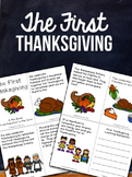Thanksgiving Activities Free, Turkey, Pilgrims, Native Americans