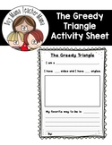 FREE The Greedy Triangle Writing Activity