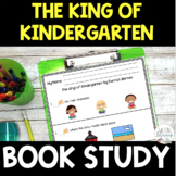 FREE The King of Kindergarten Book Study