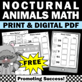 FREE The Kissing Hand Math First Day of School Activities for Kindergarten Math
