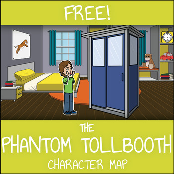 FREE The Phantom Tollbooth Character Map Worksheet