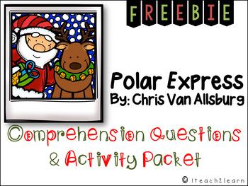 Christmas Writing and ELA Activities - Polar Express