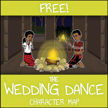FREE The Wedding Dance Character Map Worksheet