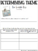 FREE Theme Printables (Anchor Charts, Mentor Texts, Practice Pages)