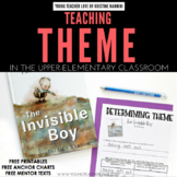 FREE Theme Printables (Anchor Charts, Mentor Texts, Practi
