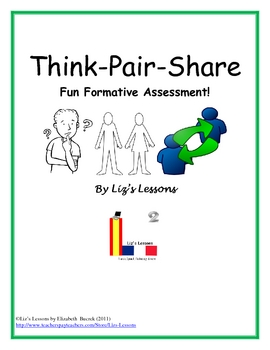 free think pair share fun formative assessment by liz 39 s lessons. Black Bedroom Furniture Sets. Home Design Ideas