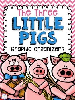 FREE Three Little Pigs Graphic Organizers