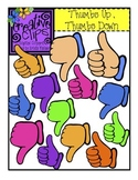 FREE Thumbs Up, Thumbs Down {Creative Clips Digital Clipart}