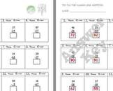 FREE Tic-Tac-Toe Number Line Worksheet A