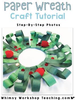 FREE Christmas Wreath Ornament Tutorial