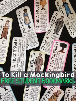 FREE To Kill a Mockingbird Bookmarks