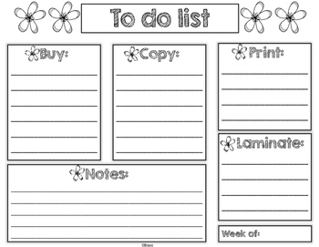 FREE- To do list