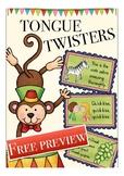 FREE Tongue Twisters ESL / English vocabulary pronunciatio