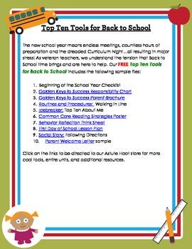 Back to School: FREE Top Ten Tools