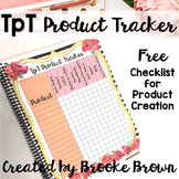 FREE TpT Seller Product Tracker