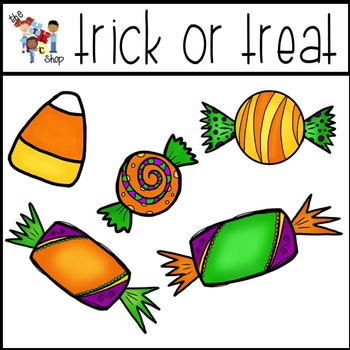 FREE! Trick-or-Treat Clipart Set
