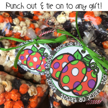FREE Trick or Treat Gift Tag For Halloween
