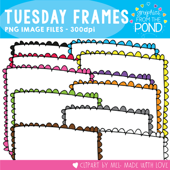 Tuesday Doodle Frames