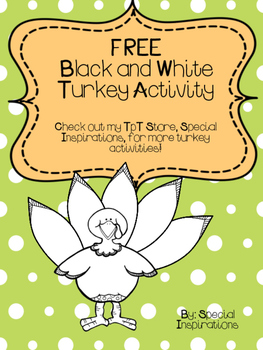 FREE Turkey Activity