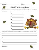 FREE Turkey Write-the-Room