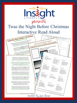 FREE Twas the Night Before Christmas Interactive Read Aloud Printable