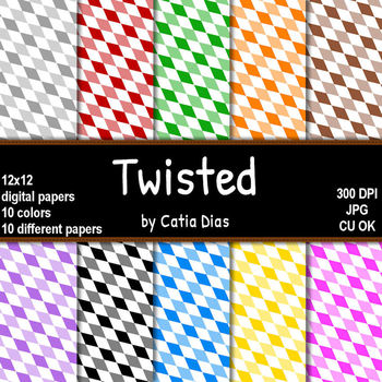 FREE Twisted Digital Papers