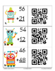 FREE! Two Digit Addition & Subtraction SCOOT with QR Codes