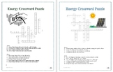 "FREE! ""Types of Energy"" cross word puzzle (2 versions) - 1"
