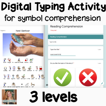 FREE Typing Practice for Symbol / Easy Reading Comprehension Activities