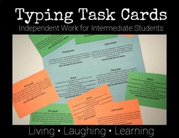 FREE Typing Task Cards