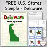 FREE U.S. States Sample - Delaware
