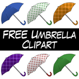 FREE Umbrella Clip Art