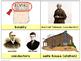 Underground Railroad Picture Vocabulary Cards