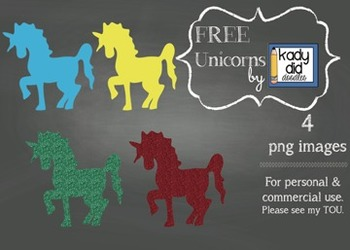 FREE Unicorns {4 images} for personal and commercial use