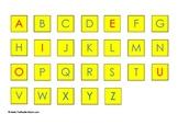 FREE Uppercase Letter Tiles