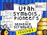 FREE Utah Symbol Book, Pioneer/Ute Graph, and Comparisons