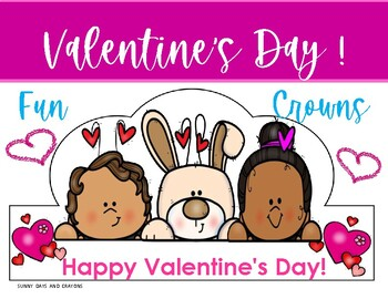 FREE ~ VALENTINE'S DAY CROWNS