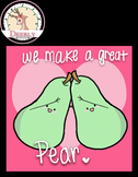 "FREE!!! VALENTINE, ""WE MAKE A GREAT PEAR!"" GIF :3 (Deerly)"