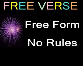 CELEBRATE NATIONAL POETRY MONTH: FREE VERSE POETRY WRITING AND ANALYSIS