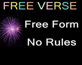 CELEBRATE NATIONAL POETRY MONTH: FREE VERSE POETRY WRITING