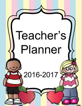 FREE VERSION Teacher Binder Survival Planner