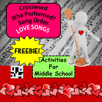 FREE!!! Valentine Activities for Middle School